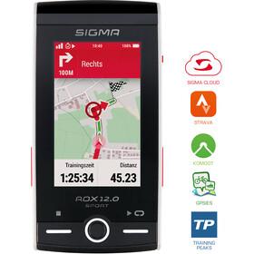 SIGMA SPORT ROX 12.0 GPS Sport Fahrradcomputer Set Weiß